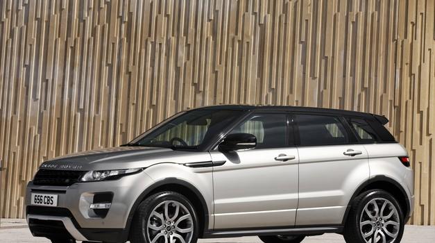 Range Rover Evoque po novem kot hibrid (foto: Rezvani)