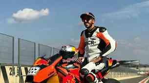 Cairoli zapeljal KTM-ov MotoGP dirkalnik preko 300 km/h