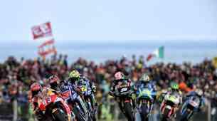 MotoGP, VN Avstralije: kdaj se je nazadnje od štarta do cilja borilo kar osem dirkačev?