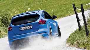 Ford Focus-u RS namenil 'hidravlično' ročno zavoro