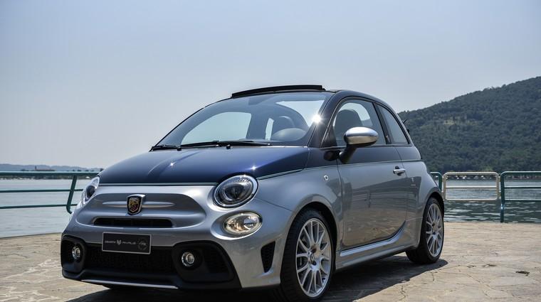 Fiat in Riva skupaj ustavrila prav posebnega Abarth 500 Rivale (foto: FCA)