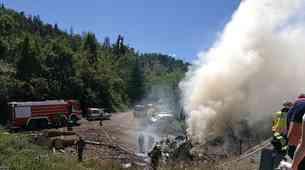 Kako so slovenski gasilci pripravljeni na gašenje požarov v električnih vozilih?