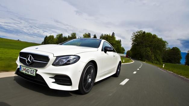 Kratki test: Mercedes-Benz E 220 d Coupé AMG Line (foto: Saša Kapetanovič)
