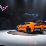 Corvette ZR1 se v novo leto pelje močnejša kot kdajkoli prej (foto: Chevrolet)