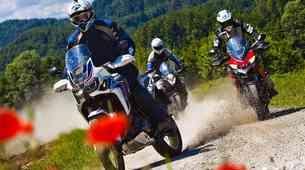 Primerjalni test: KTM 1090 Adventure, Honda CRF 1000 L Africa Twin in Ducati Multustrada 950
