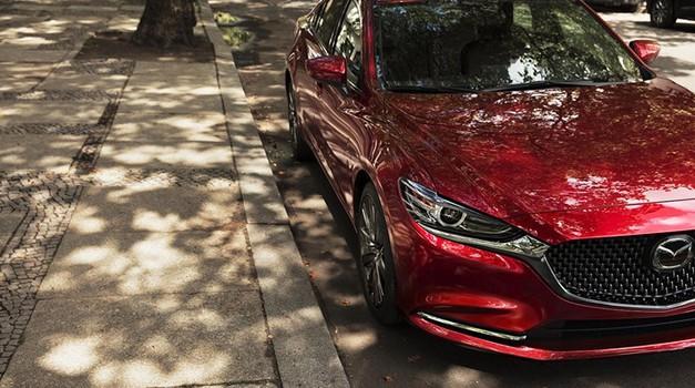 Mazda v Los Angeles s prenovljenim modelom Mazda 6 in motorji Skyactiv-G (foto: Mazda)