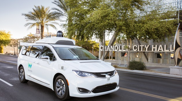 Video: Googlov samovozeči avtomobil Waymo s potniki le na zadnjih sedežih (foto: Waymo)