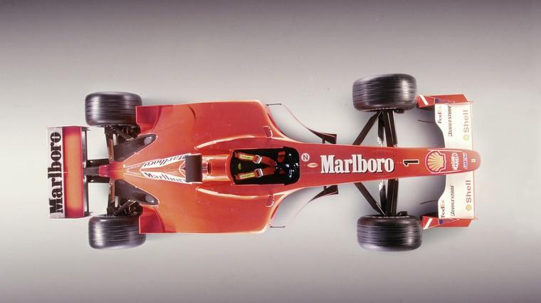 Na dražbi moderne umetnosti prodali Schumacherjev dirkalnik (foto: Scuderia Ferrari)