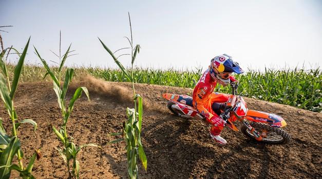 Video: Ryan Dungey se od kariere poslovi z vožnjo v koruznem polju (foto: Garth Milan / Red Bull Content Pool)
