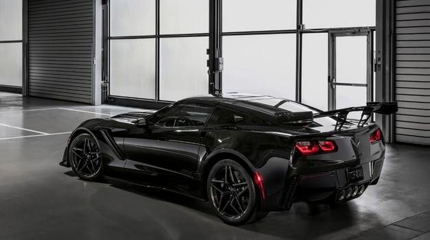 Nova Corvette močnejša kot kadarkoli prej (foto: Chevrolet)