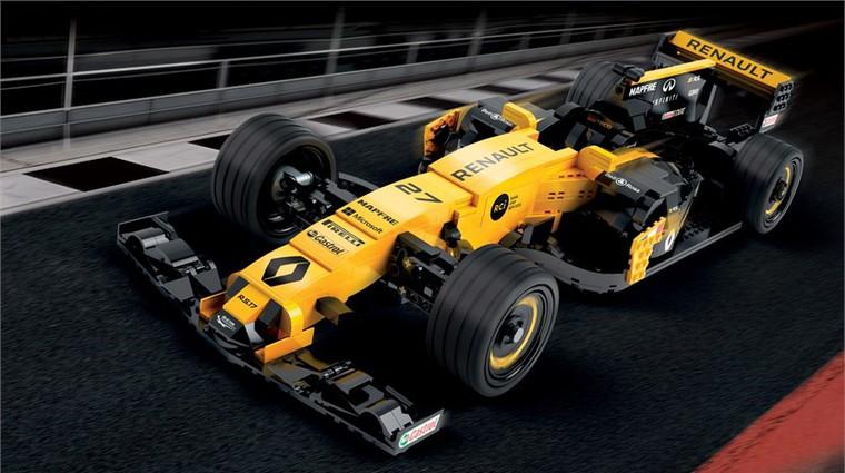 Renault in Lego skupaj izdelala maketo Formule 1 (foto: Epicure studio)