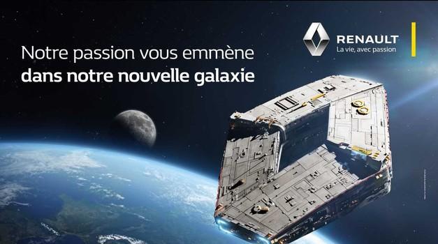 Vojna zvezd poskrbela za nov logotip podjetja Renault (foto: Renault)
