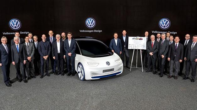 Volkswagen odšteva tedne do pričetka izdelave I.D. avtomobilov (foto: Volkswagen)