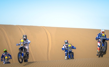 Foto in video: Yamaha za Dakar 2018 – Van Beveren pripravljen na zmago