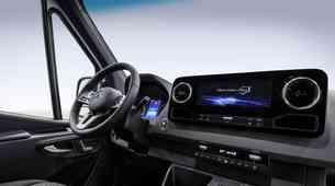 Mercedes Benz nadaljuje s (postopnim) predstavljanjem Sprinterja