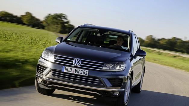 Volkswagen najavil vpoklic Touarega zaradi prekomernih izpušnih plinov (foto: Volkswagen)