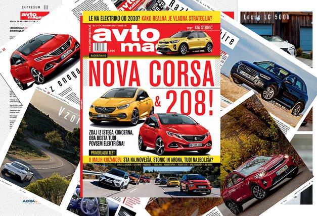 Izšel je novi Avto magazin! Testi: Kia Stonic, Jeep Compass, Citroën C3 Aircross (foto: MJ)