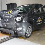 Zaušnica: Fiat Punto na strožjih Euro NCAP testih prejel najnižjo oceno (foto: Euro NCAP)