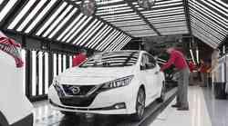 Nissan je zagnal evropsko proizvodnjo novega Nissana Leafa druge generacije