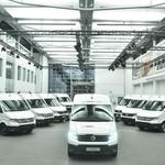 Prvi Volkswagni e-Crafterji bodo kmalu vozili na cestah (foto: VW)