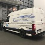 Prvi Volkswagni e-Crafterji bodo kmalu vozili na cestah (foto: Volkswagen)