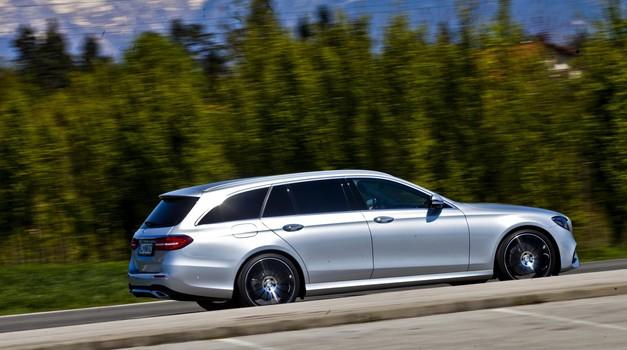 Kratki test: Mercedes E T 220d