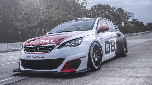 Video: Peugeot predstavil nov dirkalnik TCR (foto: Peugeot)