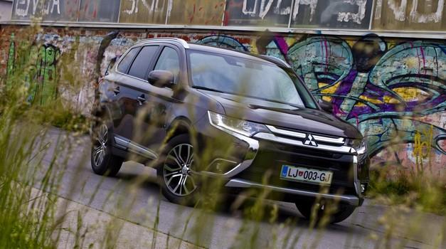 Kratki test: Mitsubishi Outlander CRDi (foto: Saša Kapetanović)