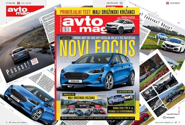 Izšel je novi Avto magazin! Testi: Ford Ka+, Volvo XC60 T8, Škoda Karoq (foto: MJ)