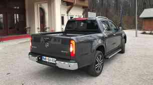 Novo v Sloveniji: Mercedes-Benz razred X