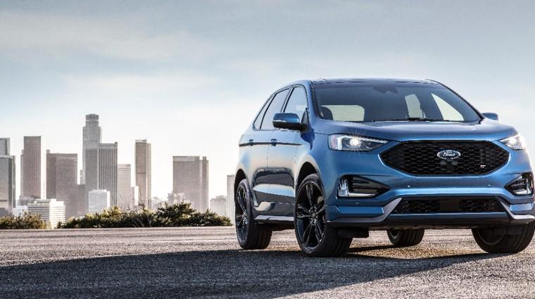 Detroit 2018: Ford Edge sedaj tudi z oznako ST (foto: Ford)