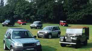 Zgodovina: Land Rover – ostanek 2. svetovne vojne, ki je zdržal 7 desetletij