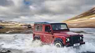 Ste lastnik legendarnega terenca? Land Rover bo sanjsko 'nabril' 150 modelov Defender