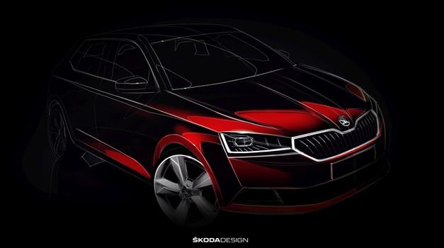 V Ženevo prihaja prenovljena Škoda Fabia (foto: Škoda)
