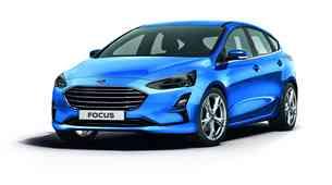 Spomladi prihaja novi Ford Focus: dizelski motor ostaja, električni z daljšim dosegom