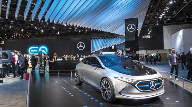 Mercedes-Benz Indija: do leta 2040 bo avtomobile poganjal vodik (foto: Daimler AG)