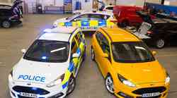 Ford razvija avtonomni policijski avtomobil