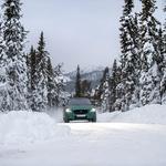 Električnemu Jaguarju I-Pace do živega ne morejo niti nizke temperature (foto: Jaguar)