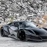 Rezvani Alpha Beast x Blackbird: 'nevidni' lovec za vožnjo po cesti (foto: Rezvani)