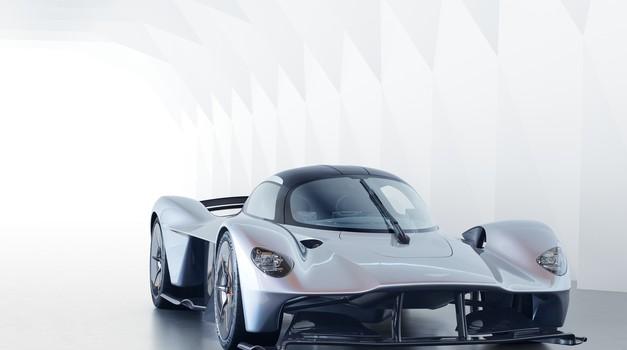 Aston Martin Valkyrie iz vesolja (foto: Aston Martin)