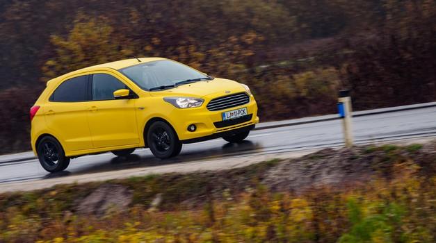 Test: Ford Ka+ 1.2 TI-VCT Trend (foto: Saša Kapetanovič)