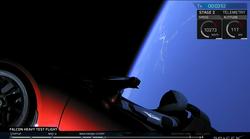 Teslo Roadster v vesolju lahko spremljate tudi v živo