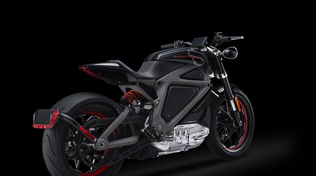 Harley Davidson potrdil izdelavo električnega modela LiveWire (foto: Harley Davidson)