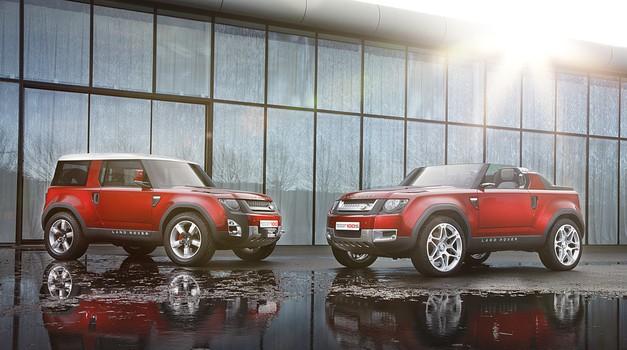 Novi Land Rover Defender že leta 2019 in s pogonom na elektriko (foto: Land Rover)