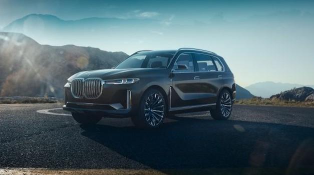 BMW X7 sprva le s klasičnimi motorji, hibrid šele pozneje (foto: BMW)