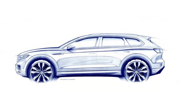 V Pekingu se bo predstavil novi Volkswagen Touareg (foto: Volkswagen)