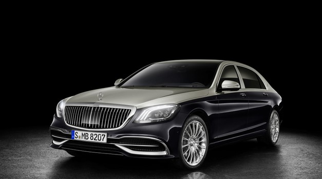 Prenovljeni Maybach razkrit pred uradno premiero v Ženevi (foto: Daimler)