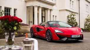 McLaren praznuje valentinovo s posebno izdajo modela 570S Spider