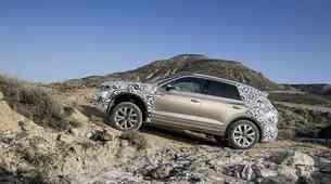 Volkswagen Touareg naj bi se dobro znašel tudi na slabših terenih