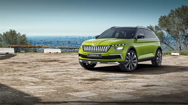 Vision X je Škodin vsestranski hibridni avtomobil (foto: Škoda)